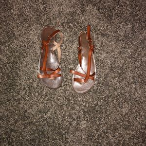 Very cute brown strappy sandals